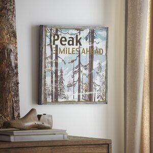 Peak Wood Wall Art by Birch Lane™