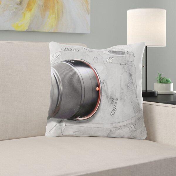 Richelieu Camera Throw Pillow