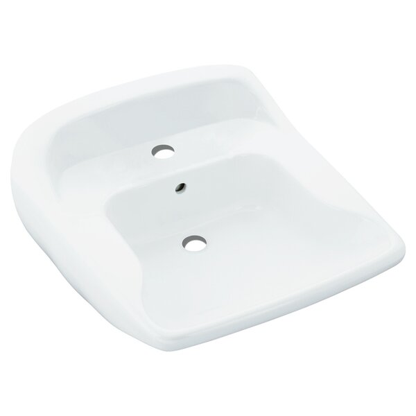 Worthington Ceramic 22 Wall Mount Bathroom Sink by Sterling by Kohler