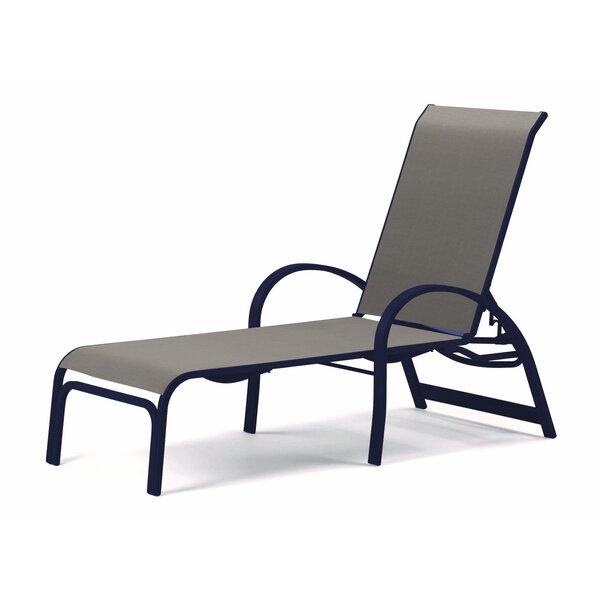 Aruba II Sling Reclining Chaise Lounge