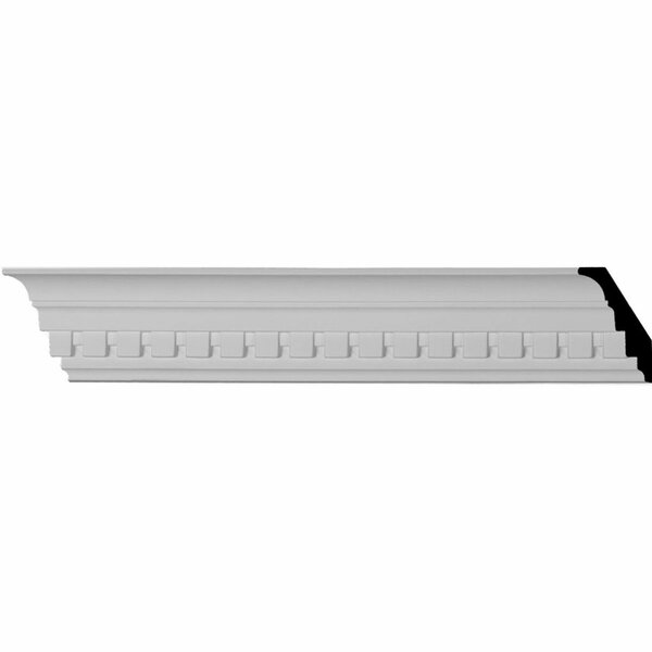 Dentil 3H x 94 1/2W x 2D Crown Moulding by Ekena Millwork