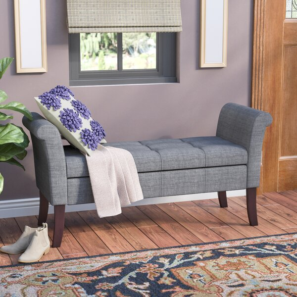 Keziah Upholstered Storage Bench by Charlton Home