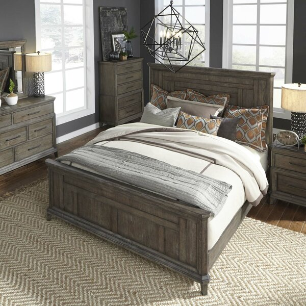Grigg Panel Headboard by Gracie Oaks