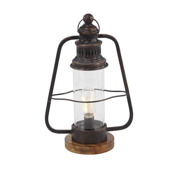 Industrial Metal Lantern by Millwood Pines