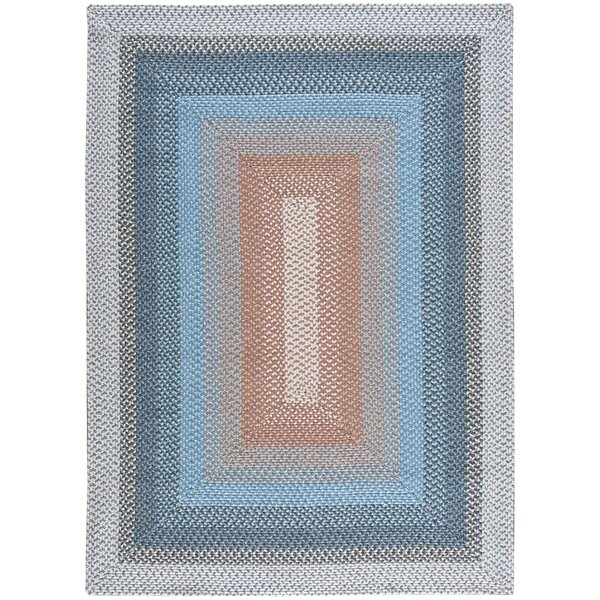 Dray Hand-Woven Blue Area Rug by August Grove