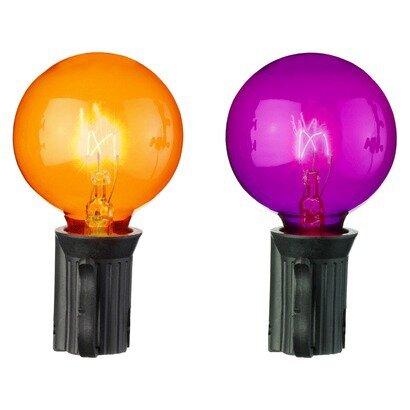 Globe Halloween Light Bulb (Set of 10) by Penn Distributing