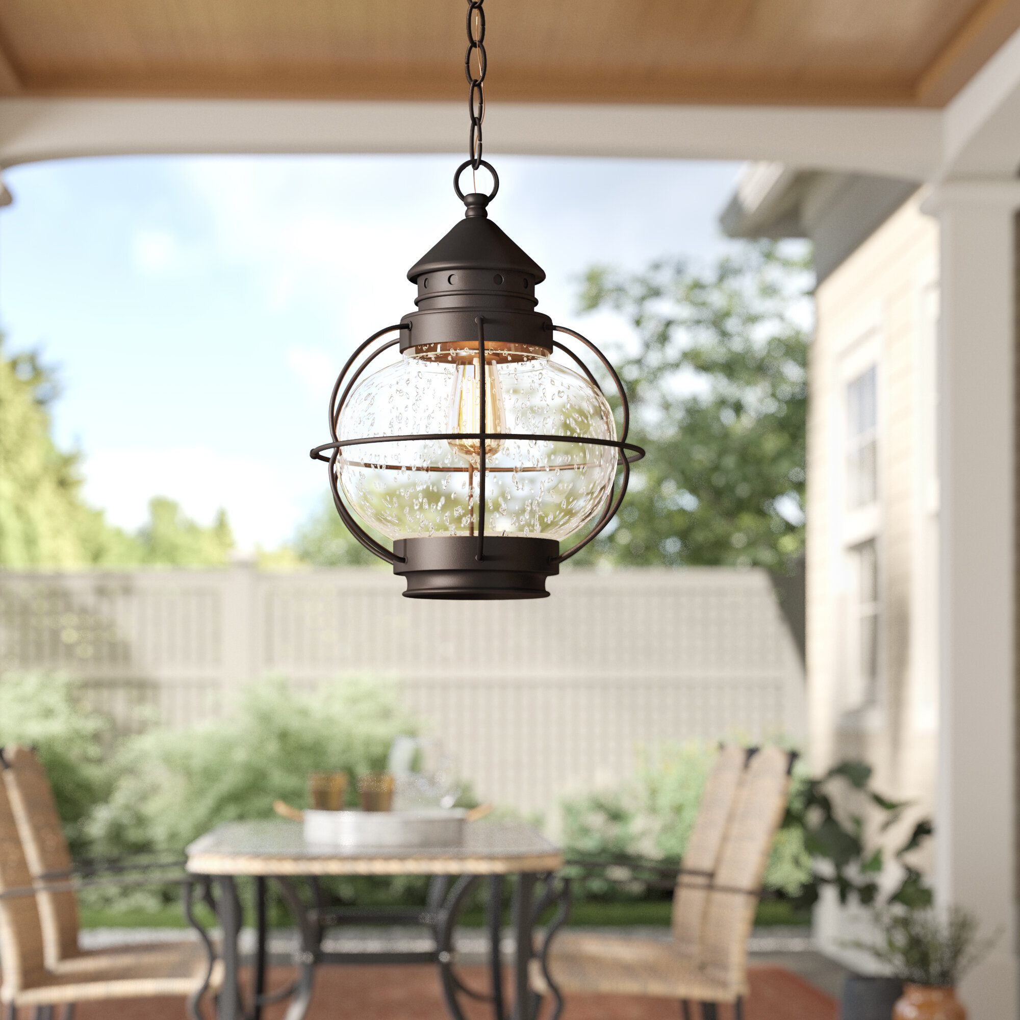 Light Outdoor Hanging Lantern
