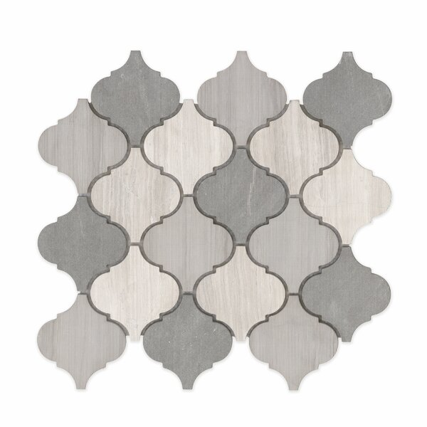 Villa Paz Stone Mosaic Tile in Moreno by Grayson M