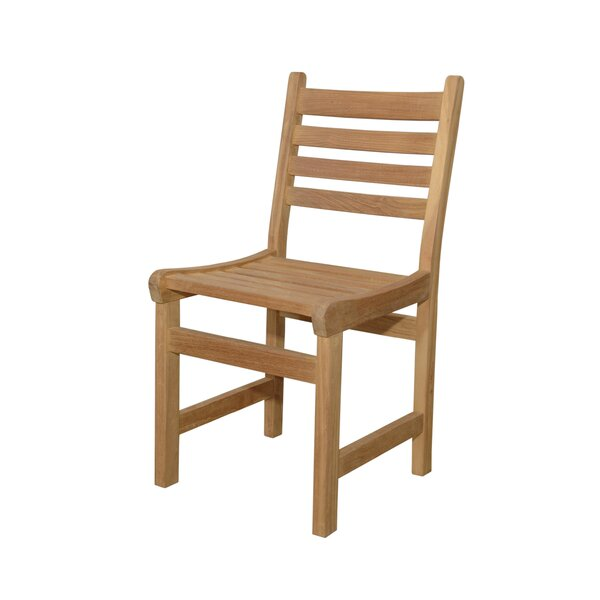 Bowens Teak Patio Dining Chair by Freeport Park