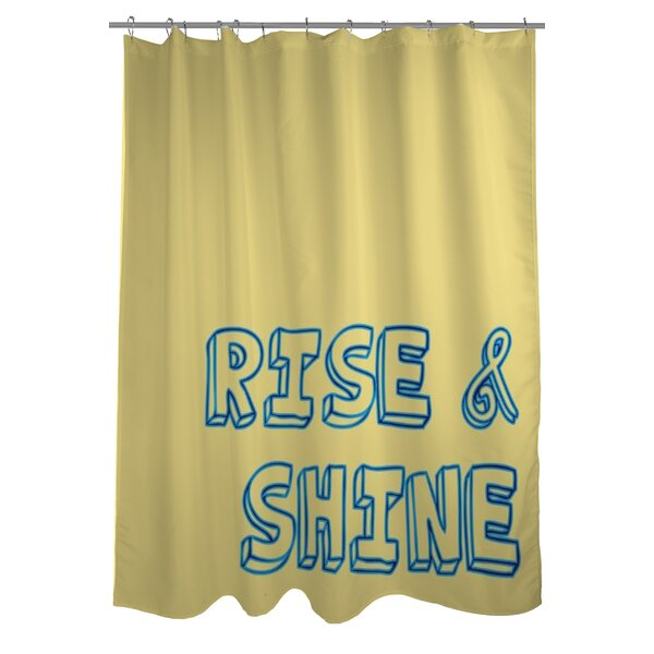 Rise and Shine Shower Curtain by One Bella Casa