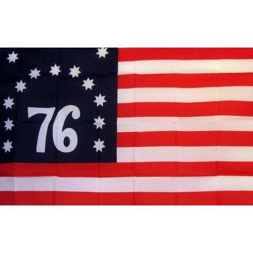 US Bennington 76 Historical Traditional Flag by Ne