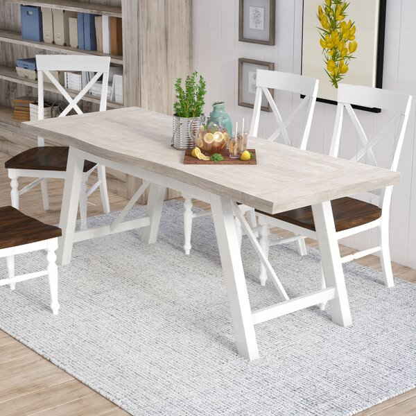 New Fairfield Extendable Dining Table by Three Posts Three Posts