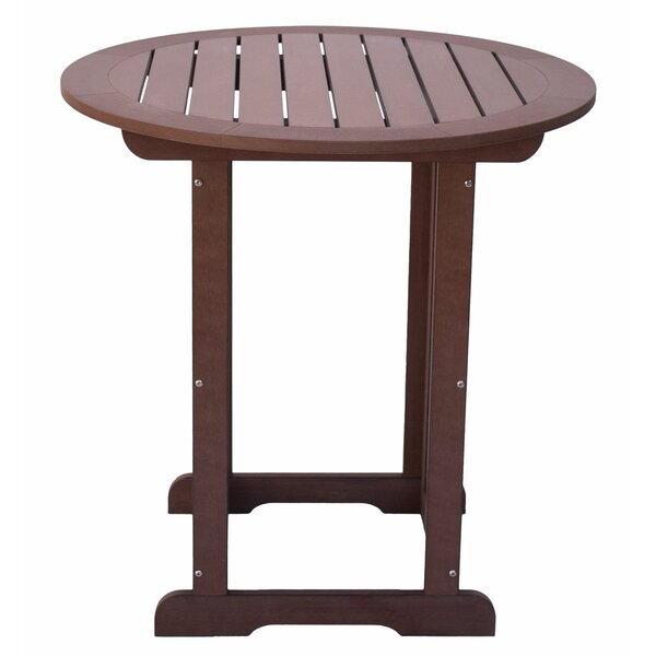 Inshore Counter High Plastic Bar Table by Bay Isle Home