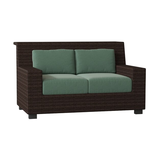 Montecito Loveseat with Cushions by Woodard