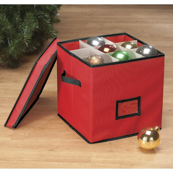 64-Cell Ornament Storage by Miles Kimball