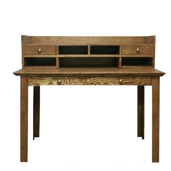 Arverne Drawers Writing Desk by Millwood Pines
