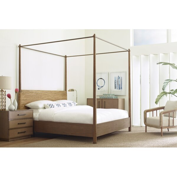 Paquette Canopy Bed by Bayou Breeze