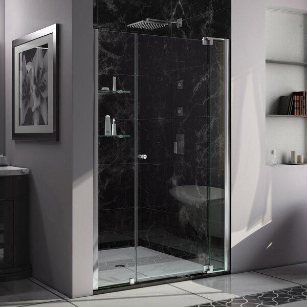 Allure 50 x 73 Pivot Frameless Shower Door by DreamLine