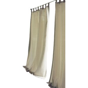 tiburon single curtain panel