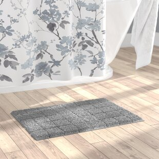 Shop For Jagger 100% Cotton Summer Tile Spray Latex Back Bath Rug By The Twillery Co.