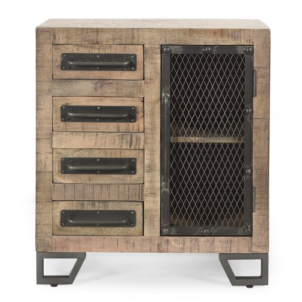 Nathan 1 Door Rectangle Accent Cabinet by Williston Forge Williston Forge