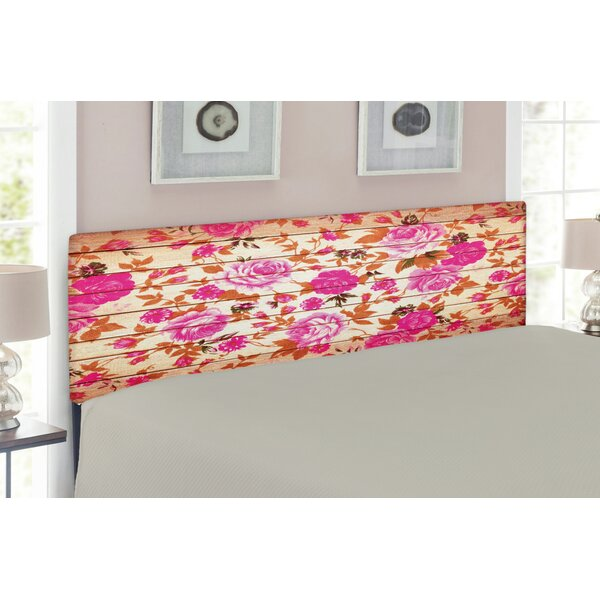 Rose Upholstered Panel Headboard by East Urban Home