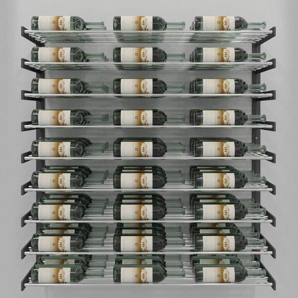 Idora 81 Bottle Wall Mounted Wine Bottle Rack by Rebrilliant Rebrilliant