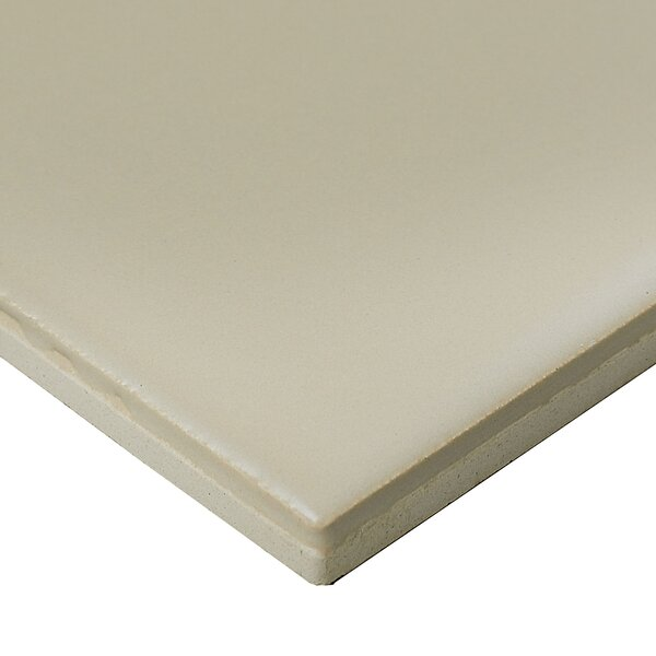 Guilford 3 x 6 Ceramic Subway Tile in Matte Urban Putty by Itona Tile