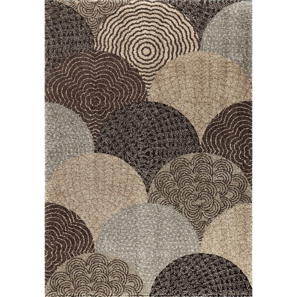 Oceana Brown Area Rug by The Conestoga Trading Co.