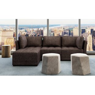 Frampton Modular Sectional with Ottoman Latitude Run