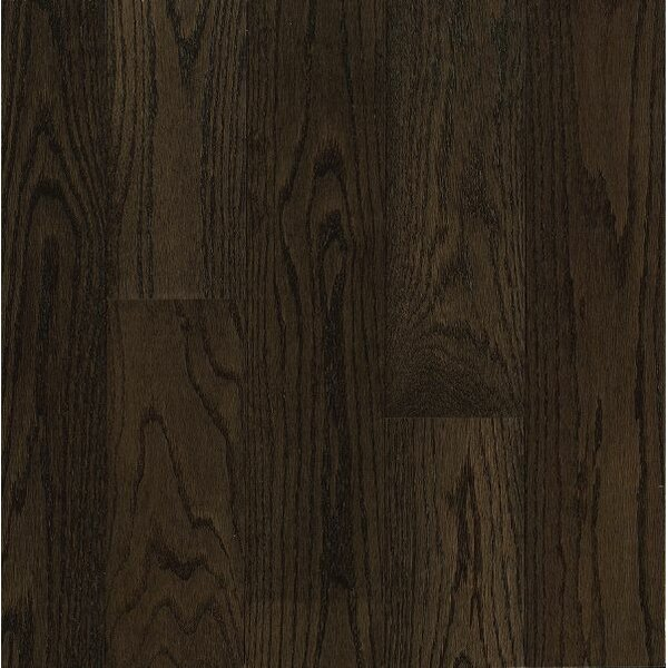 Turlington Signature Series 5 Engineered Northern Red Oak Hardwood Flooring in Espresso by Bruce Flooring