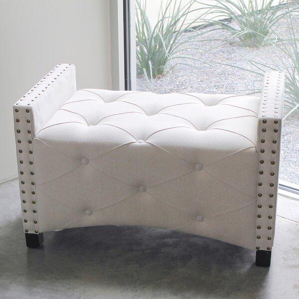 Gateshead Upholstered Bench by House of Hampton