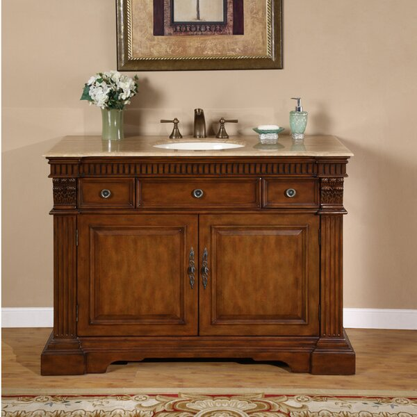 Teddy 48 Single Bathroom Vanity Set by Astoria Gra