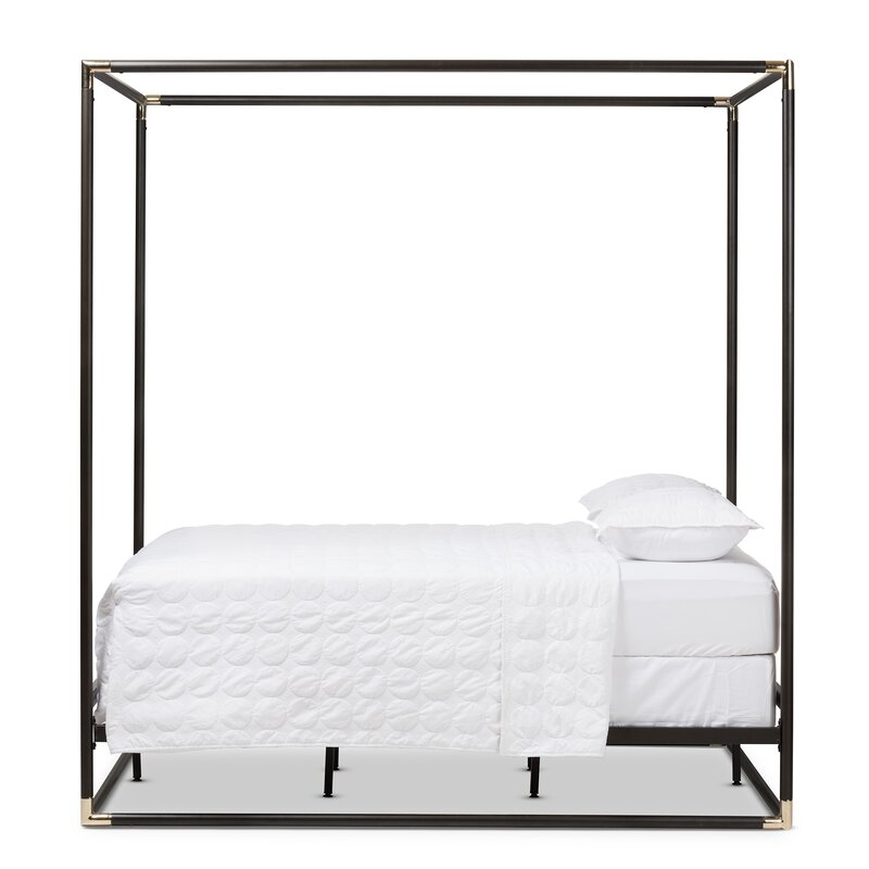 Haffey Queen Canopy Bed