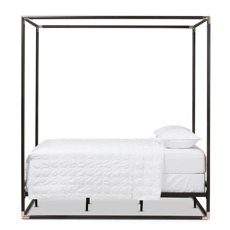 Haffey Queen Canopy Bed