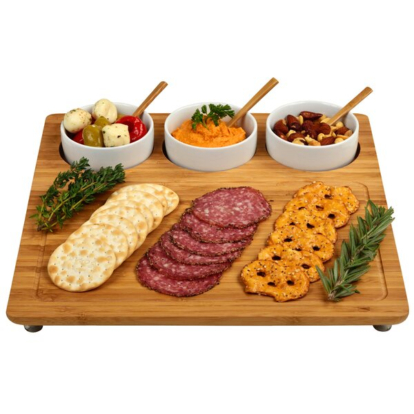 Johanna 3 Piece Cheese Board & Platter Set by Darby Home Co