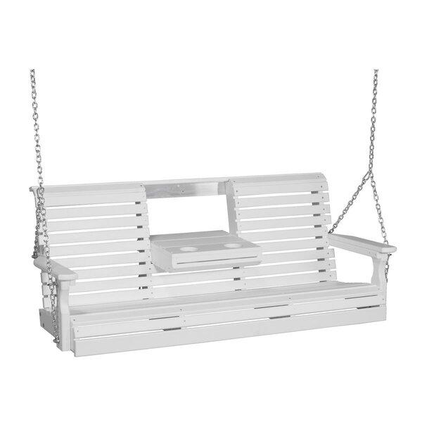 Bellandra Plain Porch Swing by Ebern Designs Ebern Designs