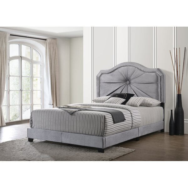 Lockett Queen Upholstered Standard Bed by House of Hampton
