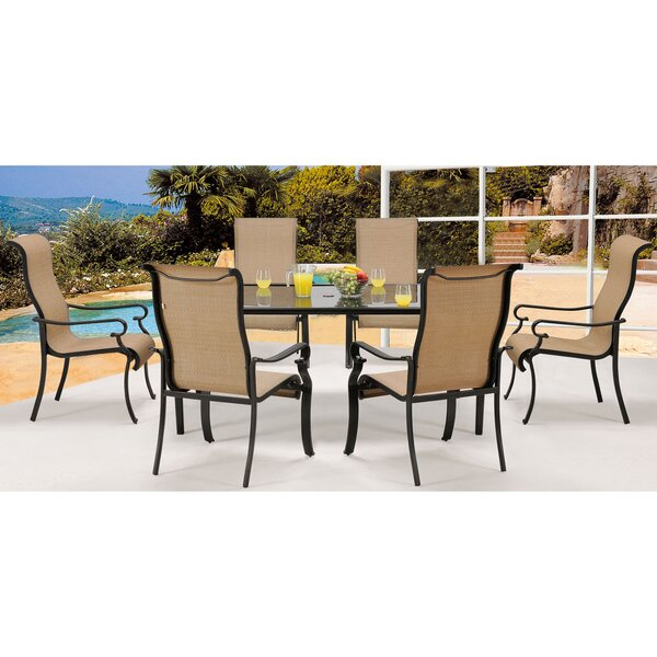 Sweeten 7 Piece Dining Set by Brayden Studio