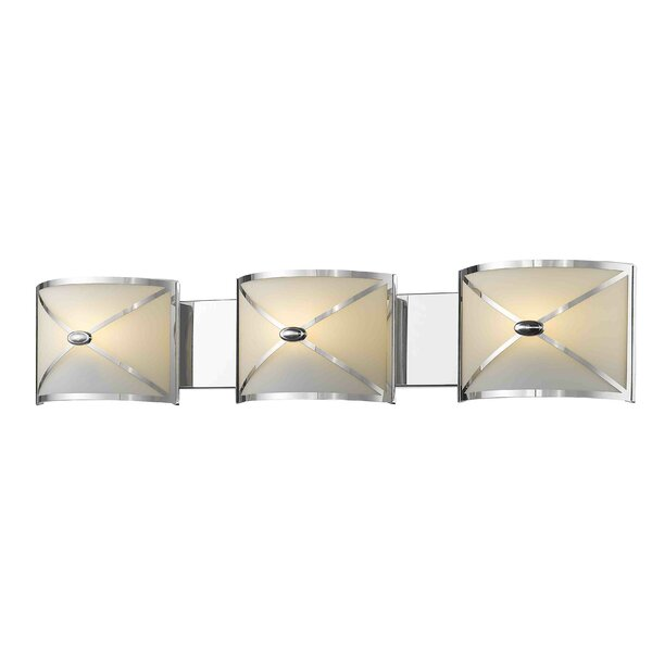 Mericle 3-Light Vanity Light by House of Hampton
