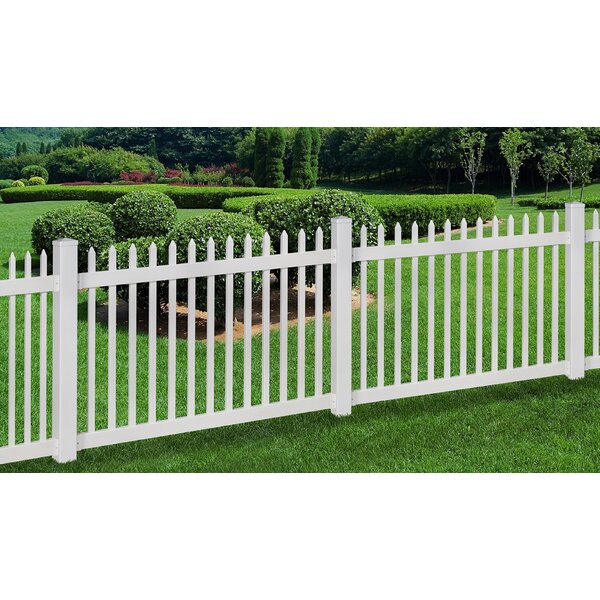 4 ft. H x 6 ft. W Nantucket Fence by Wam Bam No-Dig Fence