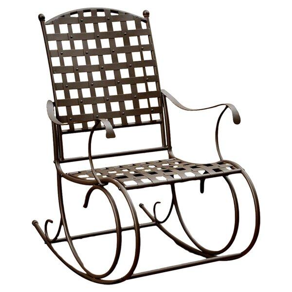 Strange Metal Patio Rocking Chairs Bralicious Painted Fabric Chair Ideas Braliciousco