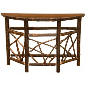 Hickory Console Table by Fireside Lodge