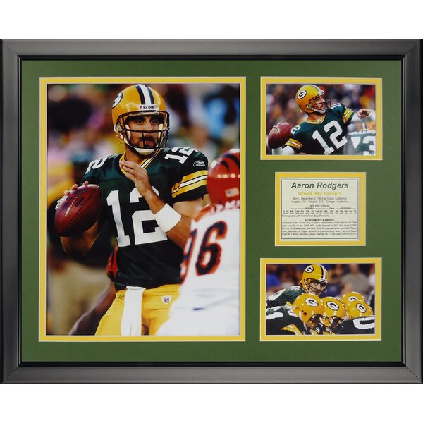 NFL Green Bay Packers - Rodgers Home Framed Memorabilia by Legends Never Die