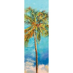 'Palm Tree' Painting Print on Canvas by East Urban Home