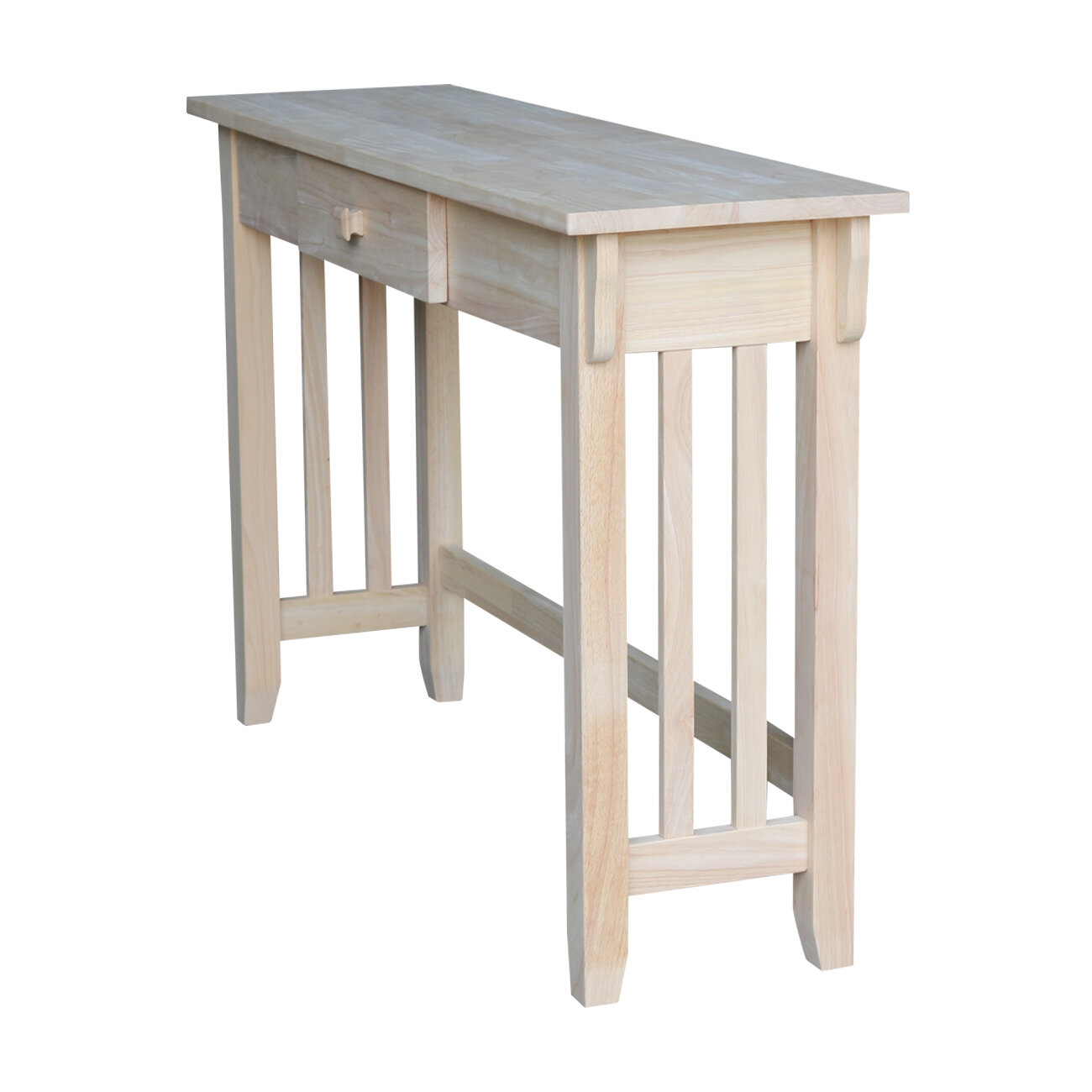 International Concepts Unfinished Mission Console Table U0026 Reviews | Wayfair