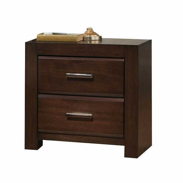 Woolridge 2 Drawer Nightstand by Foundry Select