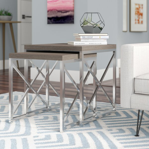 Baez 2 Piece Nesting Tables by Mercury Row
