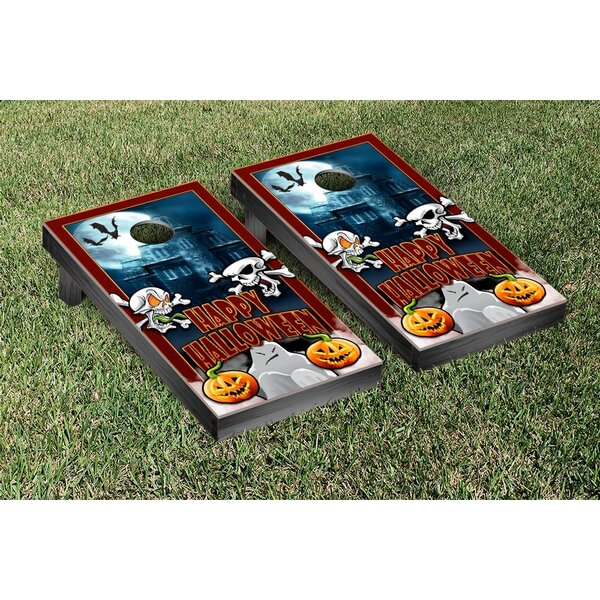 Halloween Themed Cornhole Game Set by Victory Tailgate
