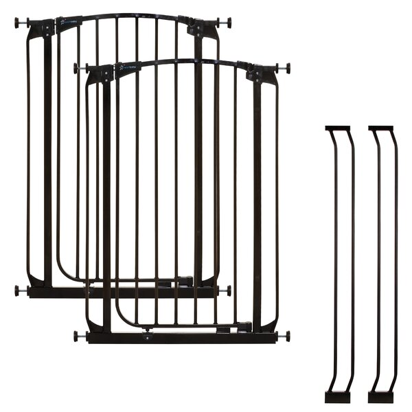 Chelsea Tall Auto Close Safety Gate (Set of 2) by Dreambaby